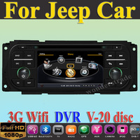 CAR DVD PLAYER  GPS navigation  for  JEEP Wrangler Liberty Grand Cherokee +3G WIFI + V-20 Disc + 1GB cpu+ 512M RAM + A8 Chipset