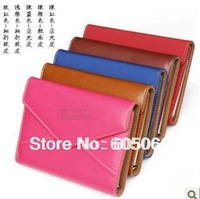 Free shipping Loose-leaf leather 7 binder loose-leaf  envelope style notebook paper notebook blank A6