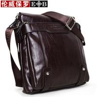 Promotion!!!  Brand Designer business bags for men Soft leather men shoulder messenger bags fashion style