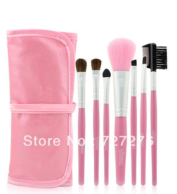 Free shipping horse hair makeup brush brush set makeup tools makeup blush brush genuine counter(China (Mainland))