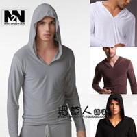 N2 n male lounge with a hood sweatshirt male sports trousers male sleep set spring and autumn