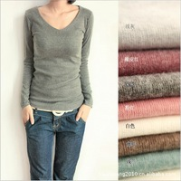 FWT5 2013 NEW 100% cotton  free shipping, Hot Sell women's fashion Cotton t shirt top clothes women t-shirt/top blouse