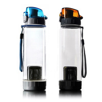 Belt cup sets leak-proof travel mug  glass sports cup water bottle readily 600ml