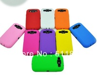 Hybrid shockproof combo protective case for samsung galaxy s3 i9300,100pcs/lot Free shipping by DHL