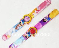 Free shipping!200pcs/lot !Fashion Princess Digital Children Watches Kids Women Character Cartoon Children Silicone Band A2655