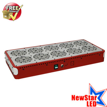 Fedex Free Shipping, High quality cheap price LED Grow Lighting 150x3w Apollo 10 panel, Red and Blue Lighting color