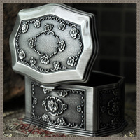 Classical fashion gothic shirley classic vintage fashion princess jewelry box
