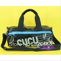 2013 cucu library library leisure sports bag bump color single shoulder bag, travel bag for men and women purse mens wallet