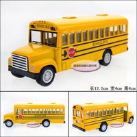 Kinsmart classic school bus baby WARRIOR alloy car model