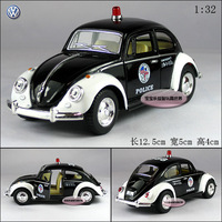 Kinsmart vw beetle police car 1967 beetle alloy car model