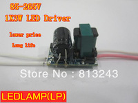 1*3W high power led driver, 1X3W lamp Transformer, 85-265V inside driver for LED DIY, 10pcs/lot & free shipping!