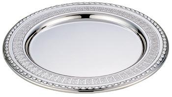Stainless steel dish flower dish silveriness dish customize(China (Mainland))