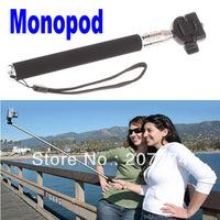 With Retail Box PortableTelescopic Monopod Tripod Light Weight for Digital Camera Camcorder NIB Photo Equipment Free Shipping