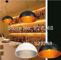 Wholesale 110v 220v e27*1 lamp holder D18*H12cm aluminum pendant lights design for home lighting outside white inside silver uk