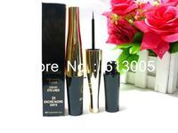 2 PCS/LOT brand makeup women and lady loves New Waterproof Liquid Eye Liner Beauty Make Up Black Eyeliner free shipping