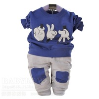 Male child baby full casual twinset 0167