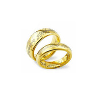 Gold Round Classic Lover Ring Sterling Silver 925 Europe US Power Ring Free Shipping