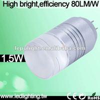 High brightness Samsung 2323SMD 80LM/W 1.5W g4 led