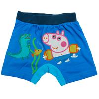 Free shipping 5pcs/lot boy summer short peppa pig swimming trunks