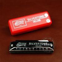 free shipping Huang harmonica 103 c silver