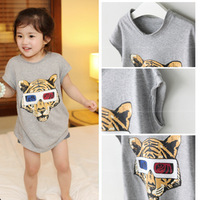 Children's clothing male female child 2013 summer steller's short-sleeve T-shirt 0711-p91