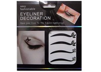 Kh-16 black eyeliner double eyelid natural eyeliner eye shadow stickers