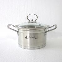 Double bottom soup pot stainless steel double bottom soup pot cooking pots and pans electromagnetic furnace general soup pot