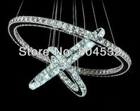 LED crystal pendant lamp free shipping D800+600+400mm