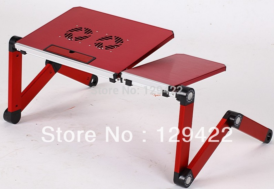 Free shipping laptop table for bed,laptop table for couch,folding laptop table,laptop lap desk,computer stands(China (Mainland))