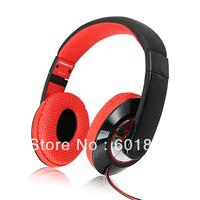 KANEN 20-20 KHZ 3.5mm Jack Stereo Sound Adjustable Earphone Headphone Black w/ Microphone wholesale free shipping #160789