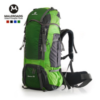 mochila feminina new arrival large capacity outdoor backpack waterproof mountaineering bag 60l travel external frame unisex