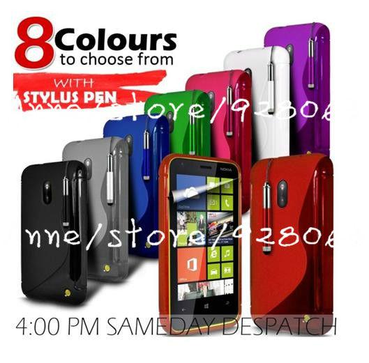 High Quality Soft TPU Gel S line Skin Cover Case for Nokia Lumia 620 ...