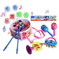 Free shipping! Kids Children's Set Mini drumming Toy Gift Eduactional  Musical Instruments Drum