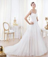 2014 Charming Style Beautiful Sweetheart Applique Chiffon Floor-Length Mermaid Plus Size Corset Wedding Dress