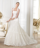 2014 New Trend Famous Brand Strapless Mermaid Chapel Train plus size wedding dresses with sleeves
