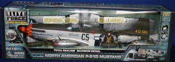 Bbi p-51 d world war ii fighter large scale model fighter