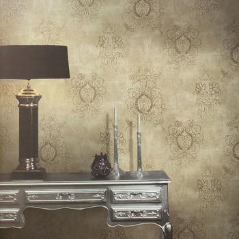 New classical bud non-woven wallpaper bedroom wallpaper