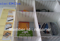 13cm height plastic drawer divider,  drawer organizer,