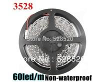 15M 3528 60 LED Strip DC12V 20W Red/Yellow/Blue/Green/White/Warm White /RGB Non-Waterproof Strip Light LED