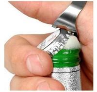 12 pcs Brand New Stainless Steel Finger Ring Bottle Opener Bar Beer tool + Free Shipping