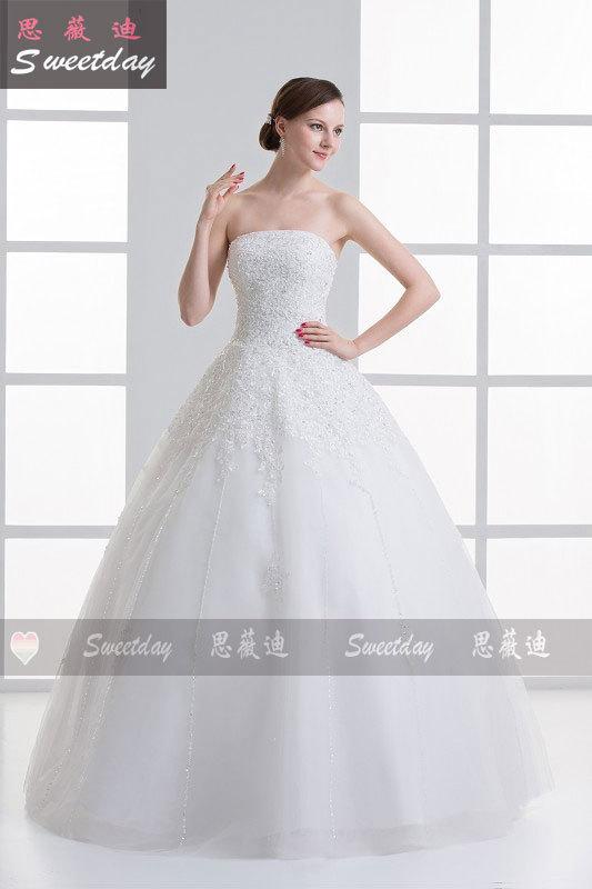 2013 simple bride wedding dress bridal sw f07028 china mainland