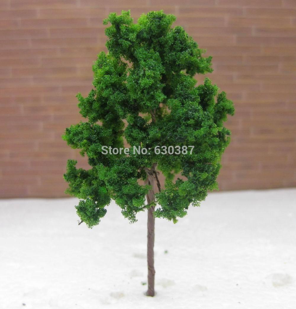 D9048 Scale Train Layout Set Model Trees N HO 9cm(Ch