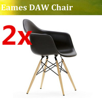 Free shipping eaems arm chair ,plastic daw chair
