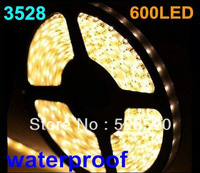 LED 3528 600 led 100M LED Strip SMD Flexible light 120led/m warm white /white/red/blue/green/yellow outdoor waterproof ribbon
