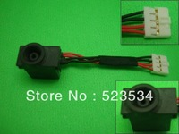 laptop dc power jack  with cable for Samsung NP-N310