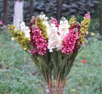 Free shipping Fashion hyacinty artificial flower silk flower artificial flowers artificial flower fashion flower flowers home