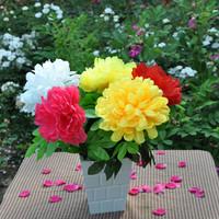 Free shipping Single chrysanthemum artificial flower silk flower artificial flowers artificial flower