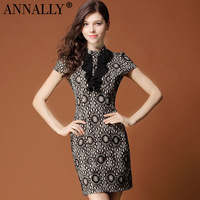 Intellectuality annally2013 elegant dress elegant lace elegant fashion compound material skirt