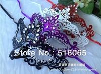 Free Shipping Wholesale Party /Masquerade / Wedding/ Princess Masks.Peacock Mask,Multicolour