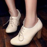 2013 high-heeled boots fashion ankle-length vintage shoes